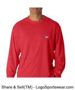 Long Sleeve Performance T Design Zoom
